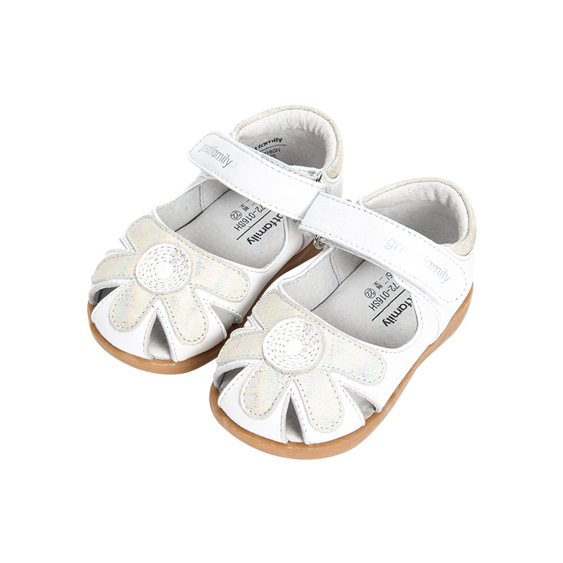 歌瑞家greatfamily女婴凉鞋白