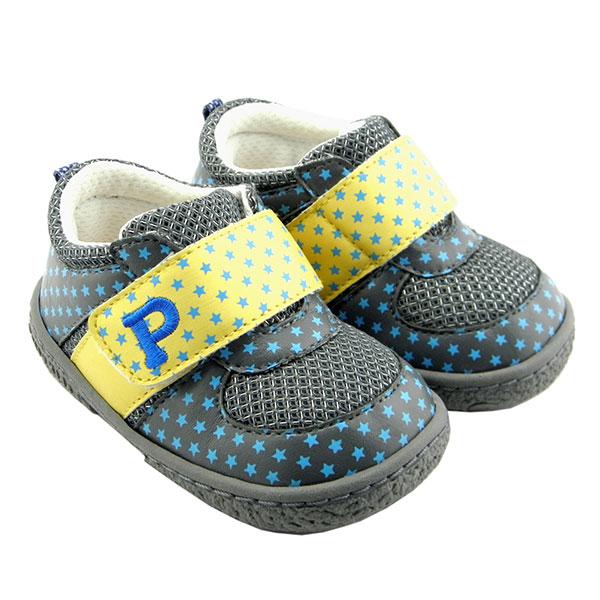 比士尼(新)--宝宝学步鞋7227灰14码双