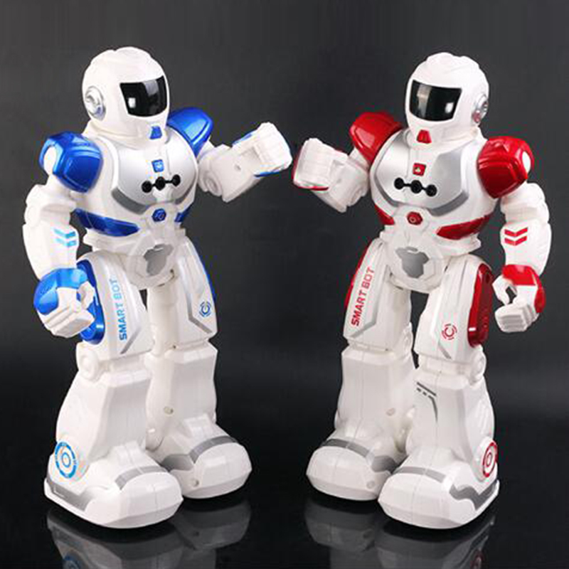 盈佳-遥控机器人(颜色随机)