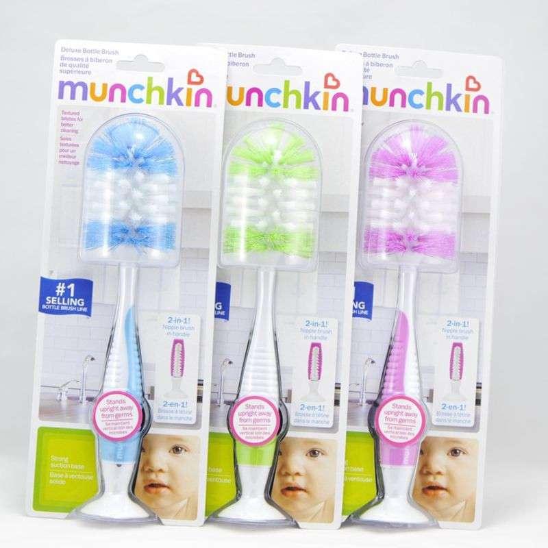 满趣健Munchkin豪�A奶瓶刷(分�)