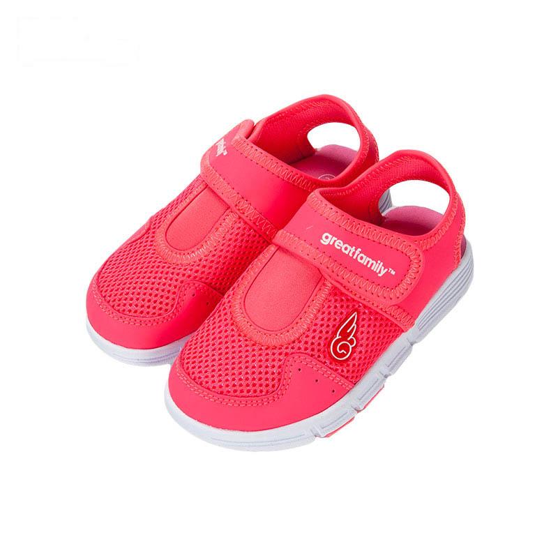 歌瑞凯儿女婴网眼鞋GK162-011SH粉13.5cm双