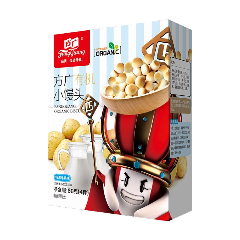 方广--小馒头牛奶味80g