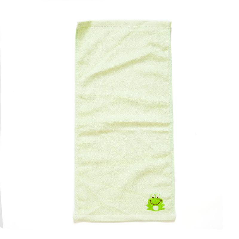 歌瑞贝儿(新)--竹纤维印花面巾GB140-058CU绿混码