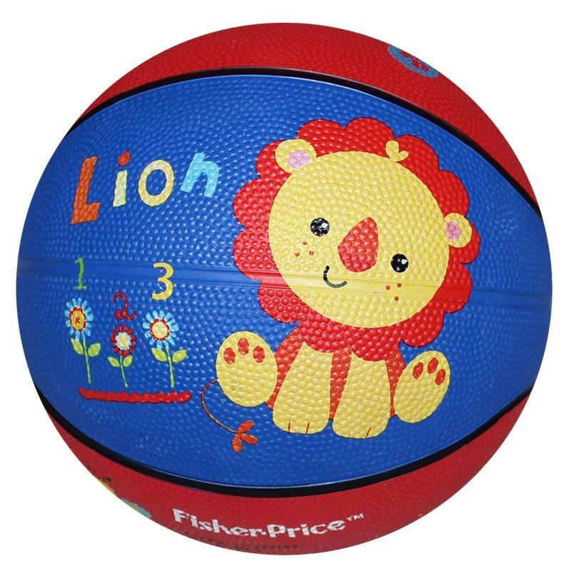 费雪(FisherPrice)7寸卡通玩具球(款式颜色随机)