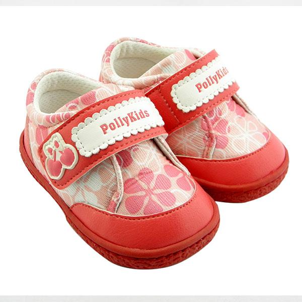 比士尼(新)--宝宝学步鞋7233桃红14码双