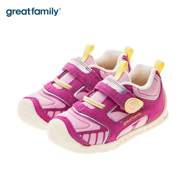 歌瑞贝儿(新)女婴机能鞋GB183-019SH粉13CM双