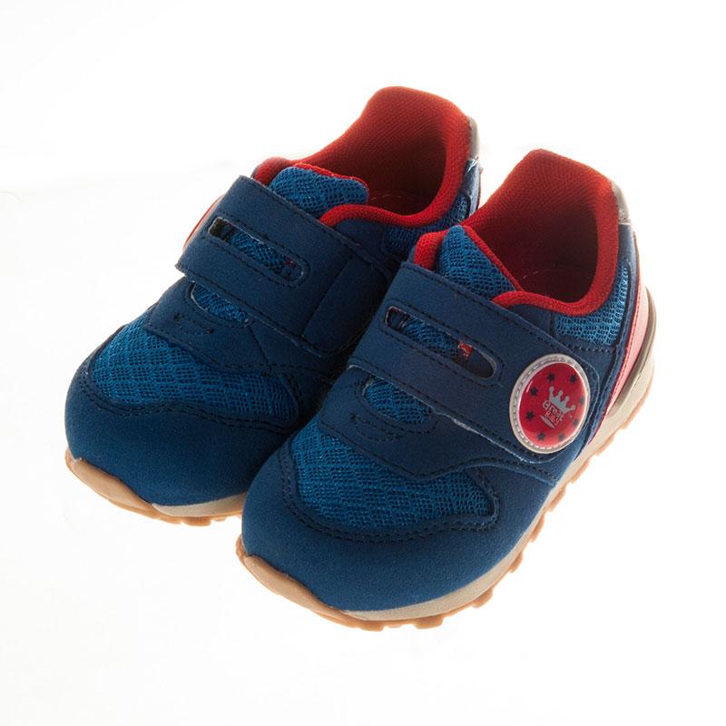 歌瑞贝儿时尚运动婴儿鞋蓝13.5码GB151-011SH