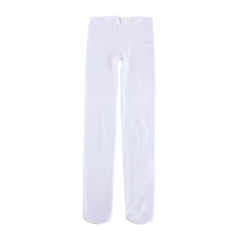 歌瑞家A类女童白色连裤袜
