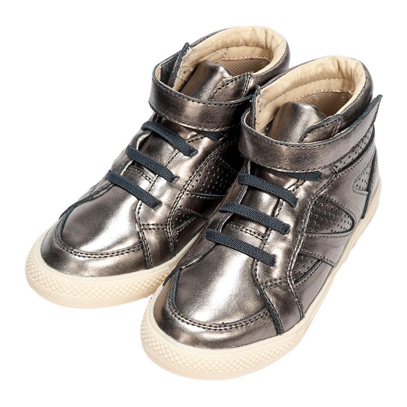 歌瑞凯儿男婴时尚皮鞋GK153-007SH灰16cm双