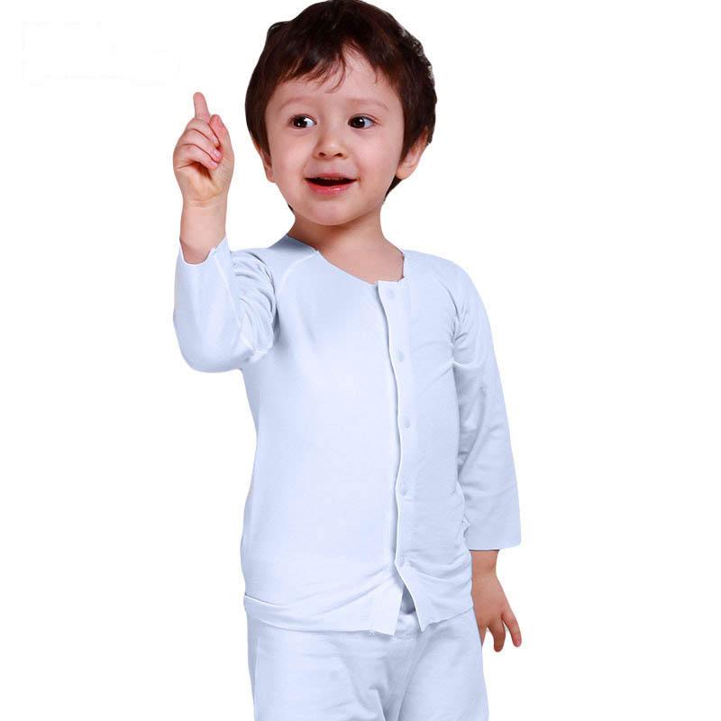 歌瑞贝儿A类男女宝宝莫代尔对襟上衣2色可选