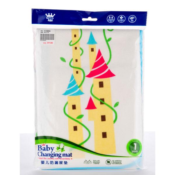 歌瑞贝儿--毛巾防漏尿垫90x70cm(混色-混码)