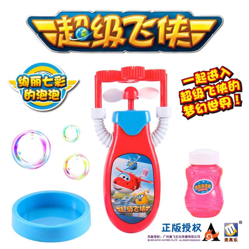 美高乐趣味泡泡玩具超级飞侠系列(款式随机)