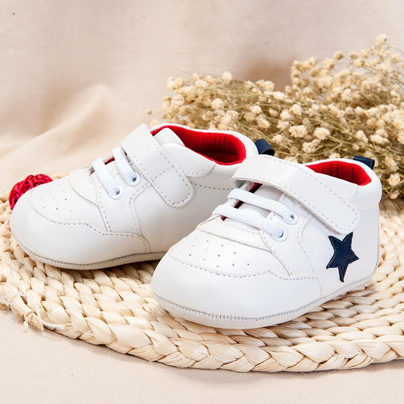 歌瑞家(greatfamily)中性宝宝运动鞋GB181-002SH白11CM双