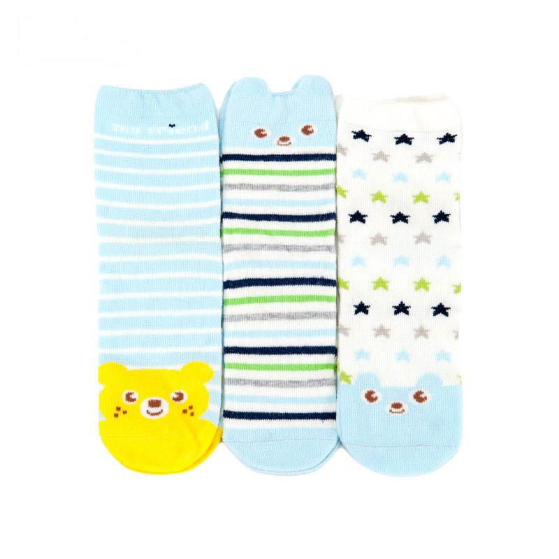 歌瑞贝儿男童卡通四季袜(3双装)
