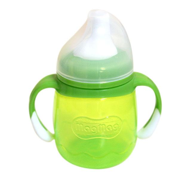 贝亲Pigeonmagmag鸭嘴式宝宝杯绿色