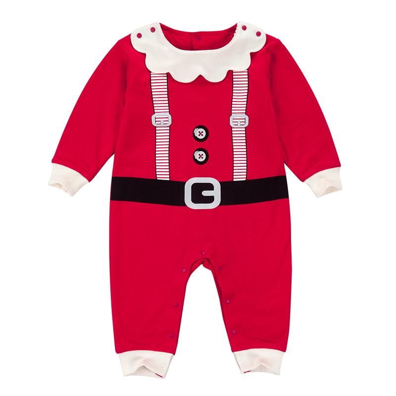 歌瑞家圣诞哈衣红
