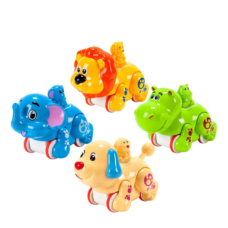 字母婴幼儿益智趣味玩具压力小动物(颜色款式随机)