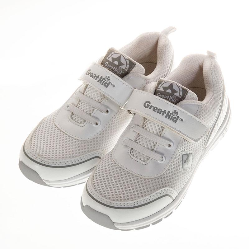 歌瑞凯儿休闲运动婴儿鞋白16码GK151-015SH