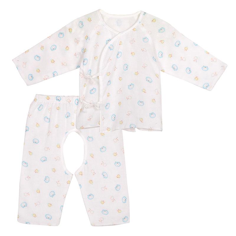 歌瑞贝儿A类男婴纱布和短袍套装1色可选