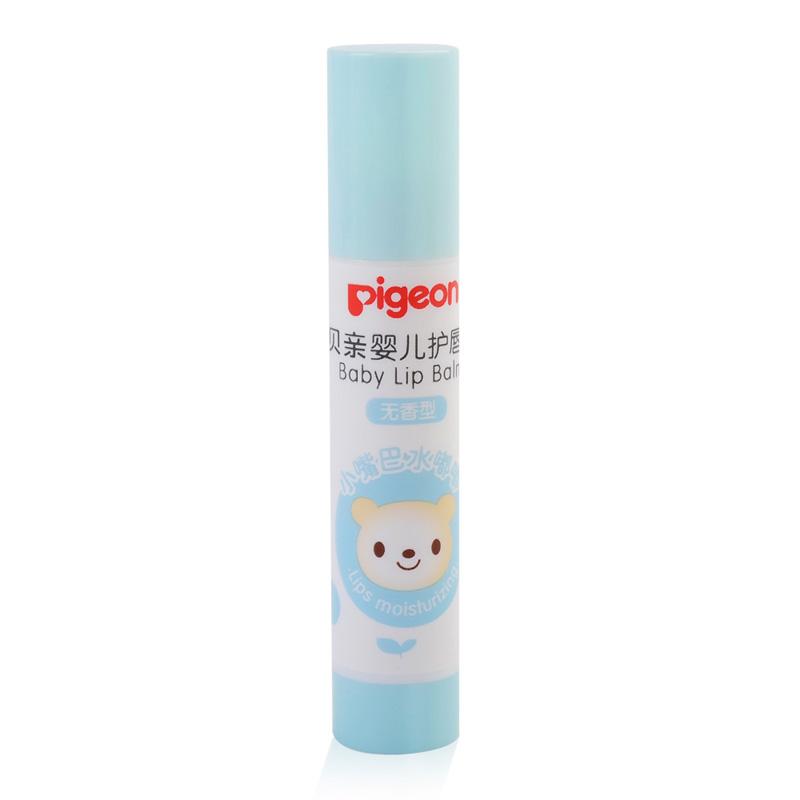 贝亲Pigeon婴儿护唇膏(无香型)3g支