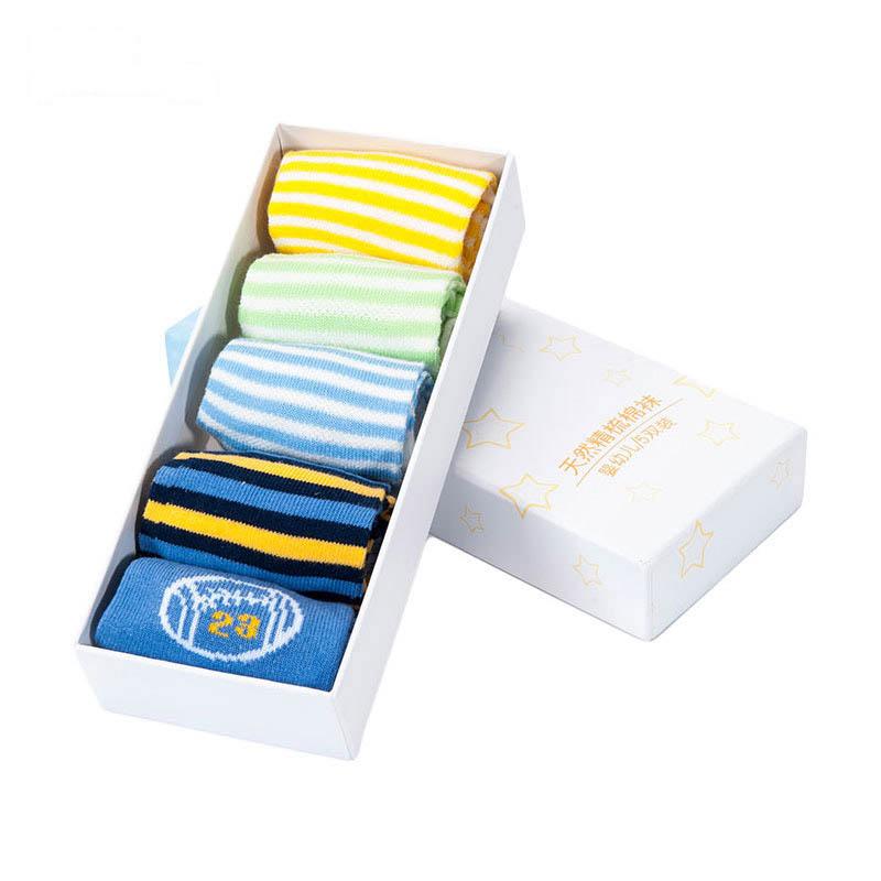 歌瑞贝儿男童四季袜(5双盒装)