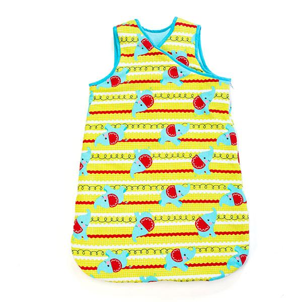 费雪(服纺新)--婴幼儿马甲睡袋KFP3F1BDBU1007蓝混码