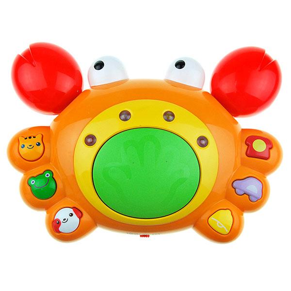 澳贝(Auby)好问爬行小蟹幼儿宝宝早教益智学爬行玩具