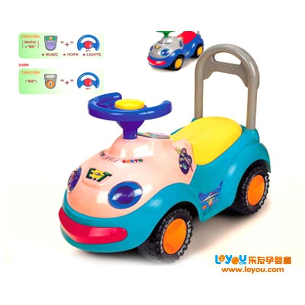 利宝来 多功能音乐滑步车2109 儿童健身益智玩具