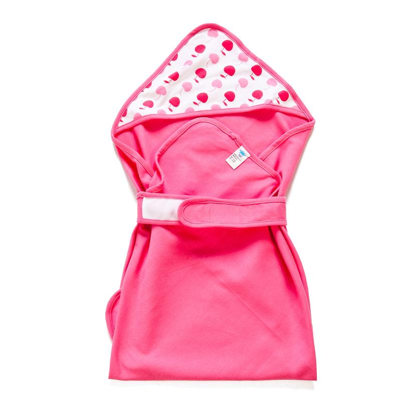 歌瑞贝儿(新)--樱桃baby抱被GB142-904QS红混码