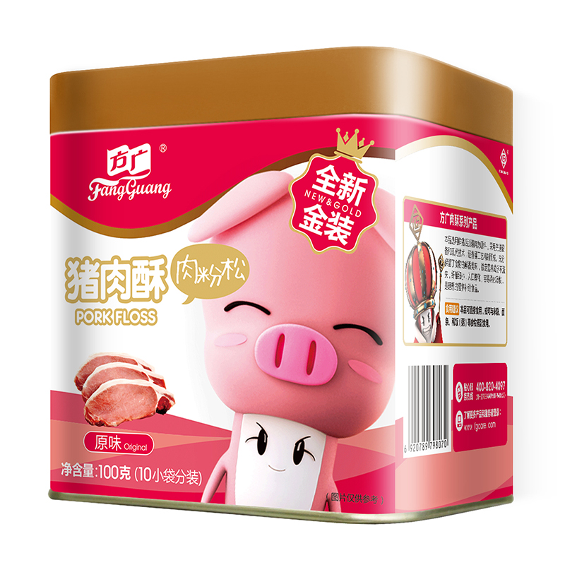 方广至猪肉酥原味100g