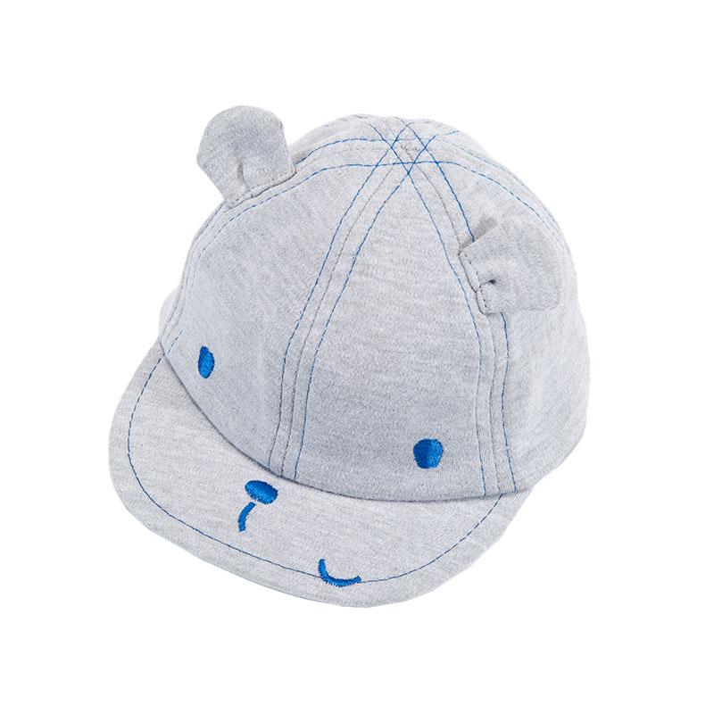 歌瑞凯儿男童小熊棒球帽GB161-029A褐色44cm顶
