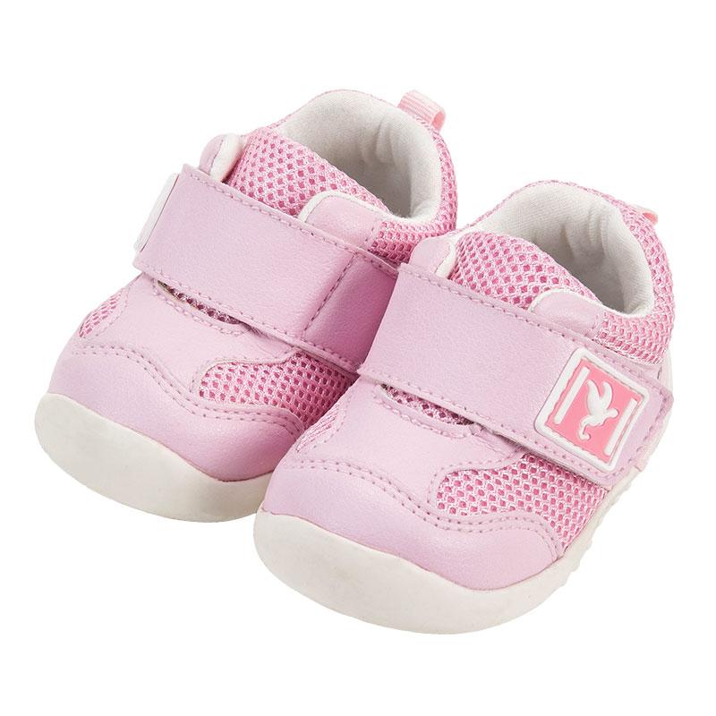 歌瑞家女婴素色宝宝鞋粉