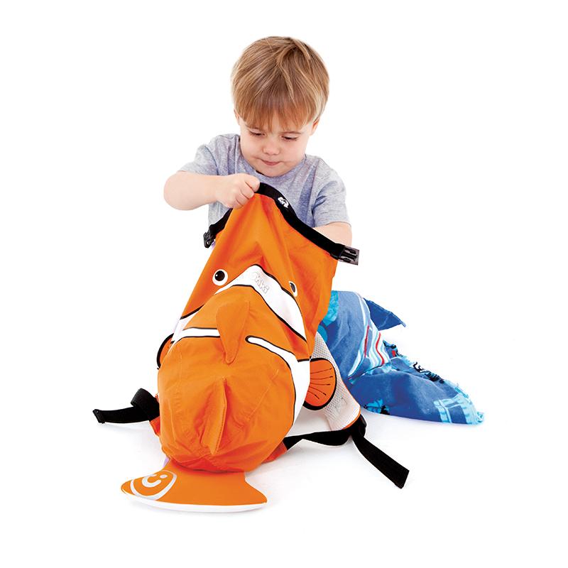 【乐海淘】英国Trunki防水背包-细码(2-6岁)-小丑鱼香港直邮