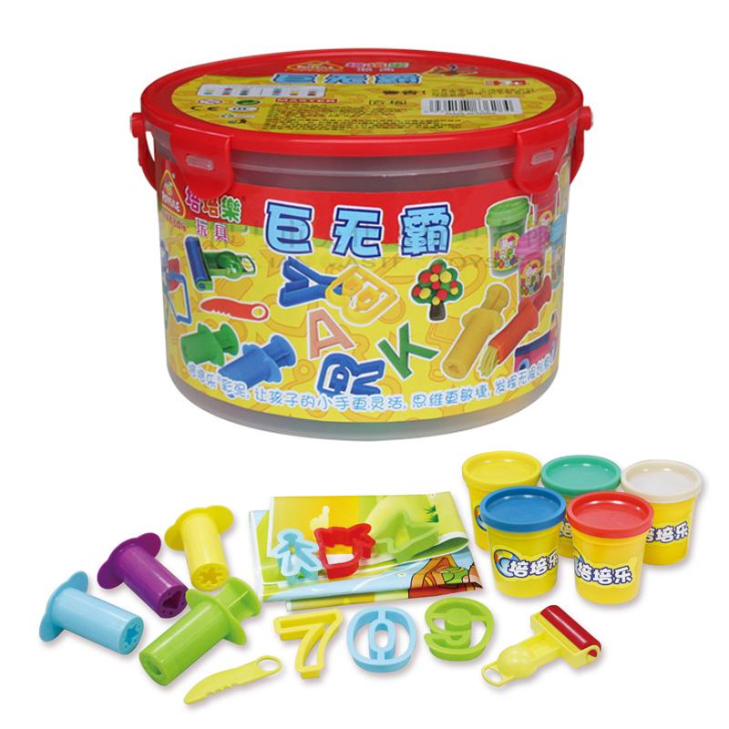 培培乐彩泥巨无霸创意玩具环保材料无毒