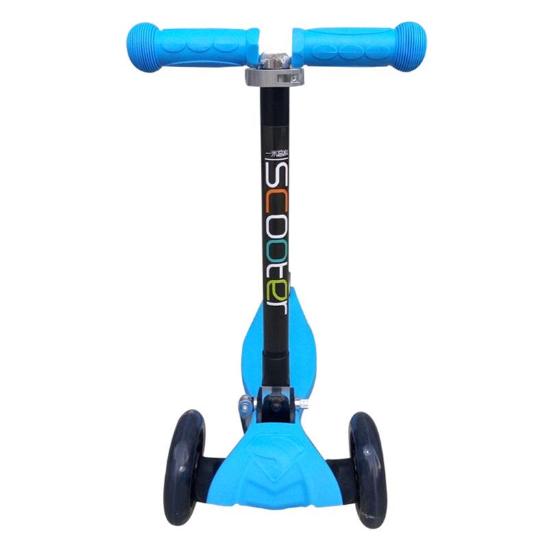 一米高科儿童三轮折叠滑板车(蓝色)