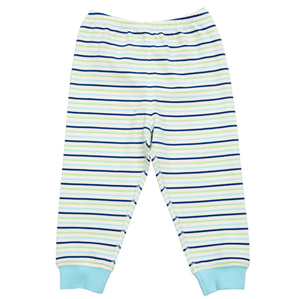 歌瑞贝儿(新)--40支双面布色织开闭档两用长裤GB133-2045KC蓝73cm