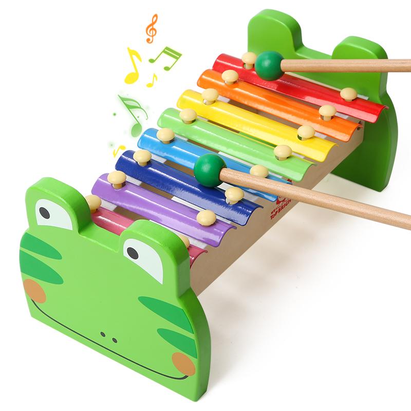特宝儿(Topbright)青蛙敲琴 启蒙益智早教音乐玩具(1岁及以上适用)7136