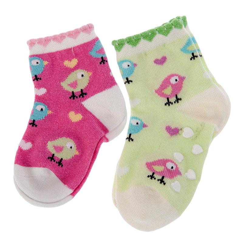 歌瑞贝儿A类可爱小鸡防滑袜6-12个月