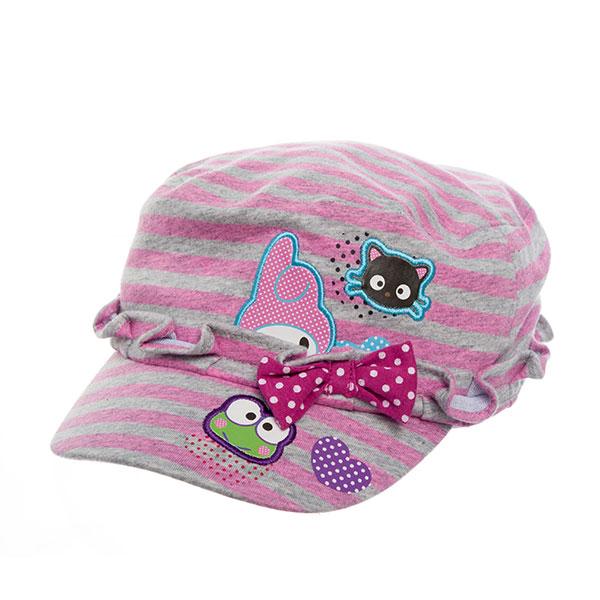 歌瑞凯儿(新)--风尚帽GK133-328条纹48码顶