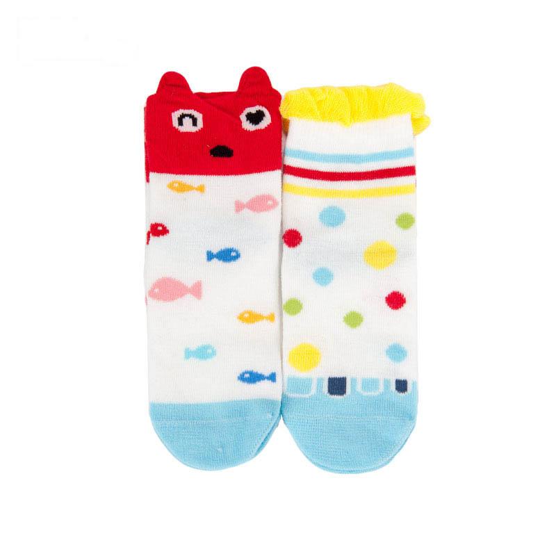 歌瑞贝儿女童卡通四季袜(2双装)