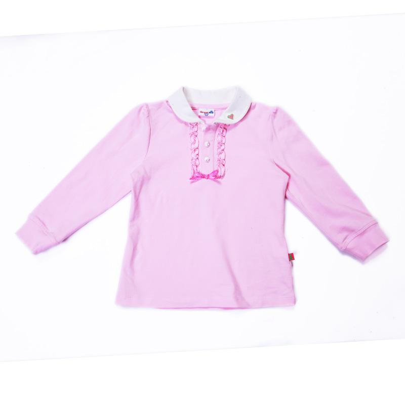 歌瑞凯儿-经典校园-女童娃娃领T恤90码