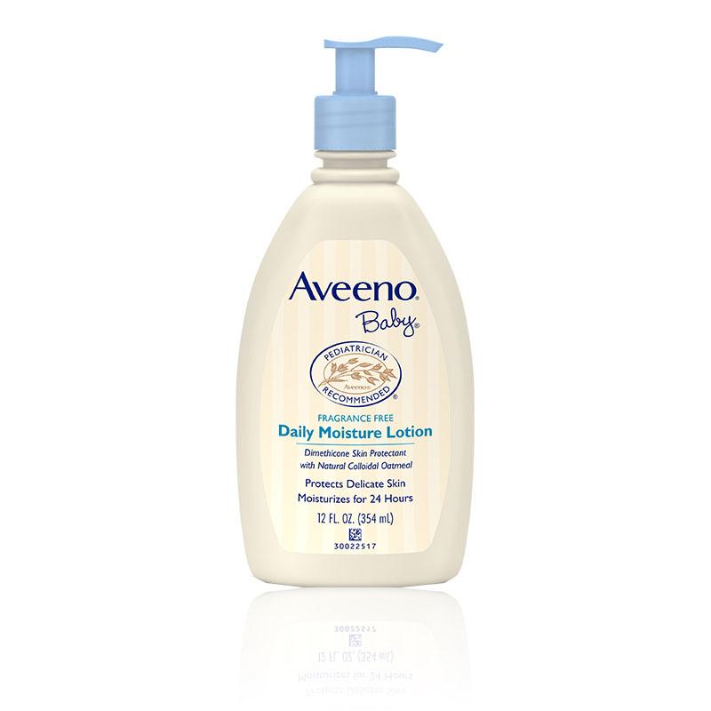 艾惟诺-Aveeno婴儿每日倍护润肤乳(无香型)354ml/瓶