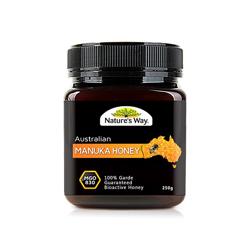 澳洲Naturesway绿之华天然野生麦卢卡蜂蜜20+MGO830250g包邮包税