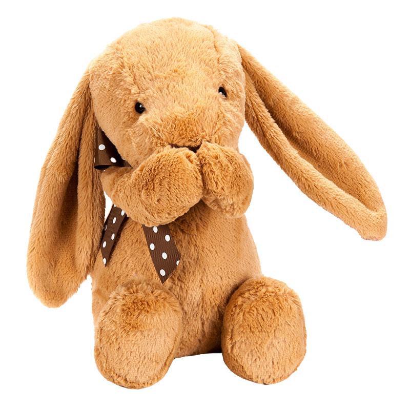 字母-折耳兔-棕