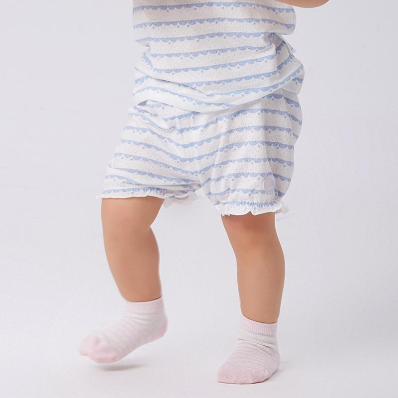 歌瑞家greatfamilyA类女条纹棉混纺B172-740KF