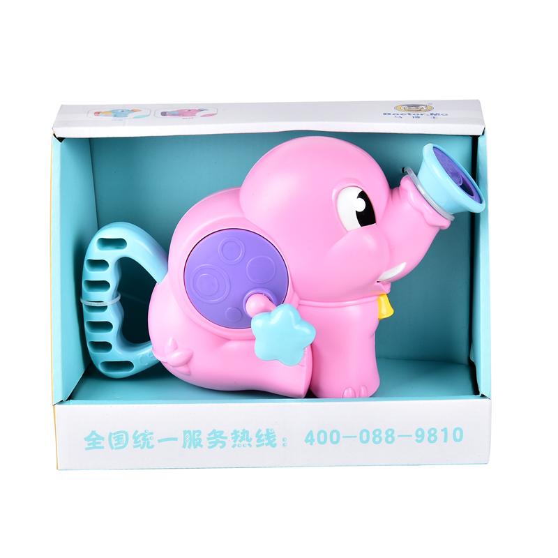 马博士(L)--小象抽水泵-粉色1个/盒
