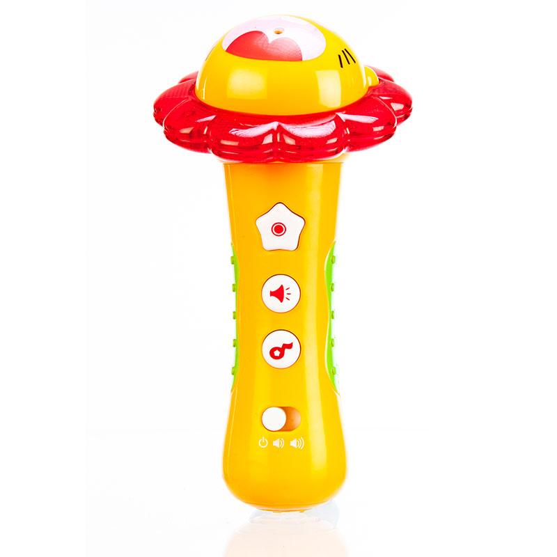 澳贝(Auby)小明星话筒麦克风录音多功能儿童音乐玩具463473