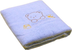 minimoto--大浴巾(蓝色)