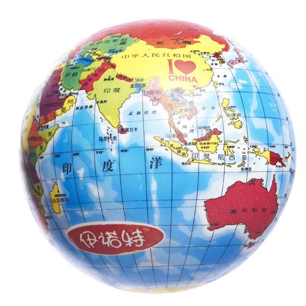 """INNOVATIVE伊诺特8.5""""地球玩具球宝宝必备球类玩具"""