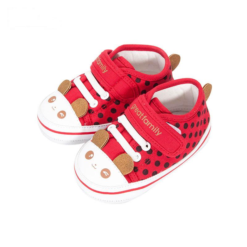 歌瑞家女婴卡通宝宝鞋
